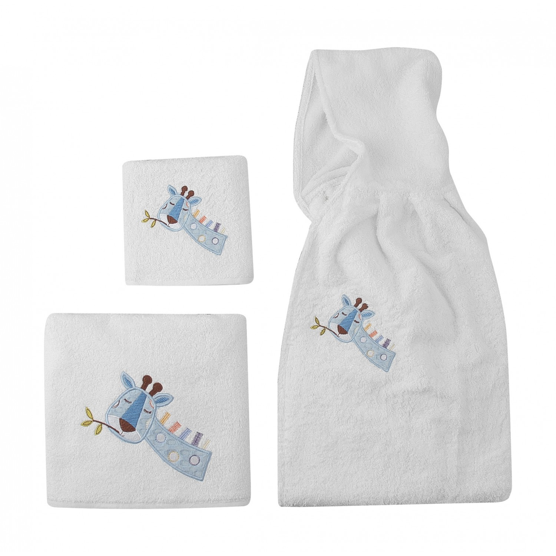 Πετσέτες  βρεφικές κεντητές σετ 2 τμχ  5105 Great adventure Beauty Home