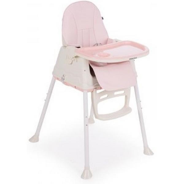Καρέκλα φαγητού   2 σε 1 Creamy Pink Kikka Boo