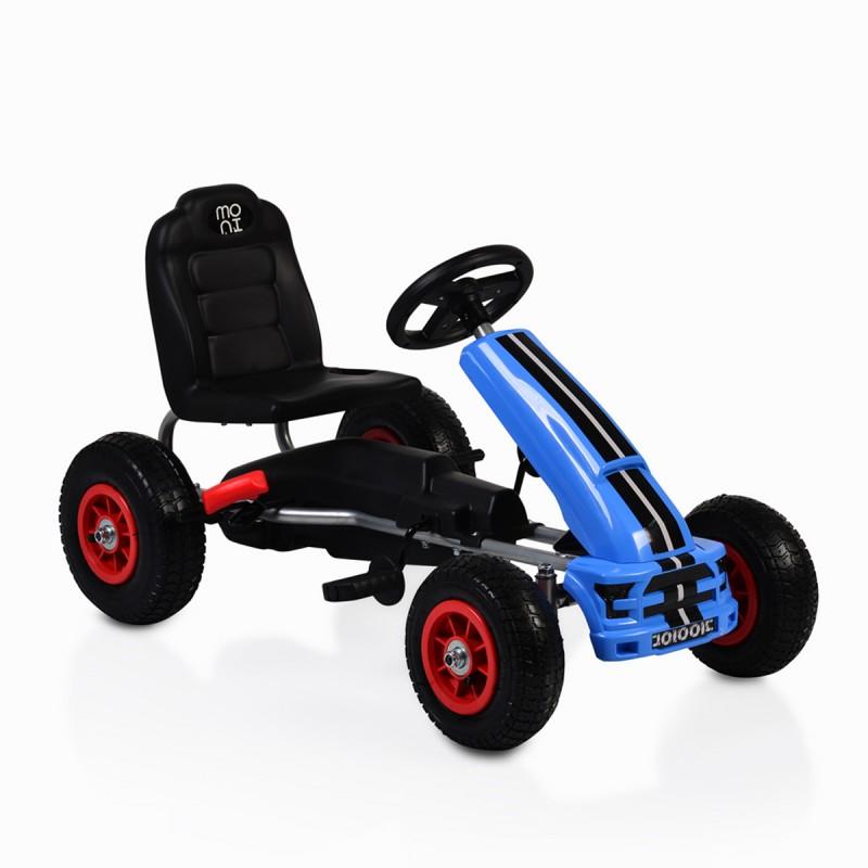 Παιδικό αυτοκινητάκι με πετάλι Go Cart Nevada B006 Blue Cangaroo