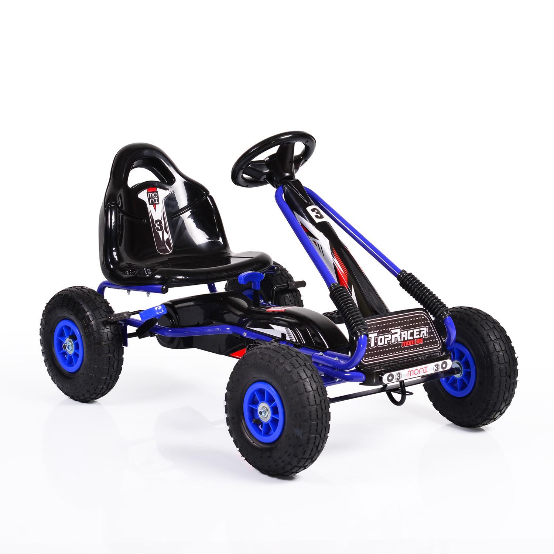 Παιδικό αυτοκινητάκι με πετάλια Go Cart TOP GA815 ΜΕ ΛΑΣΤΙΧΑ ΑΕΡΑ BLUE Cangaroo