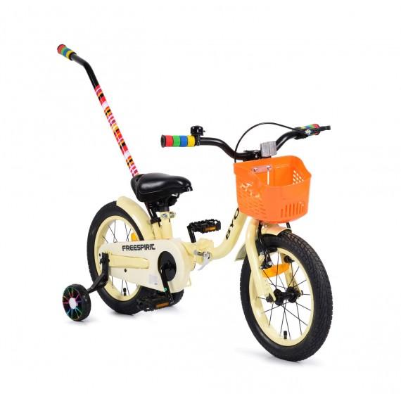 """Ποδήλατο Παιδικό Freespirit 14"""" Beige  Byox"""