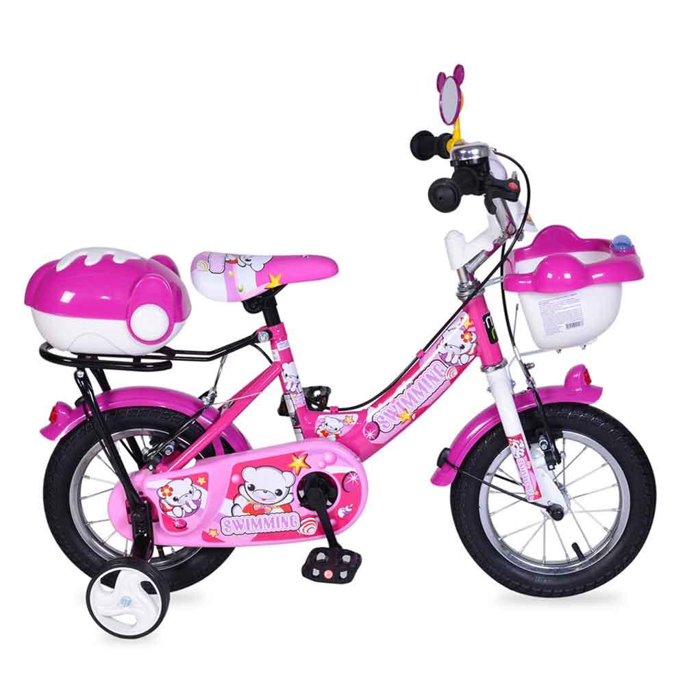 """Παιδικό ποδήλατο 12"""" 1282 Pink Byox"""