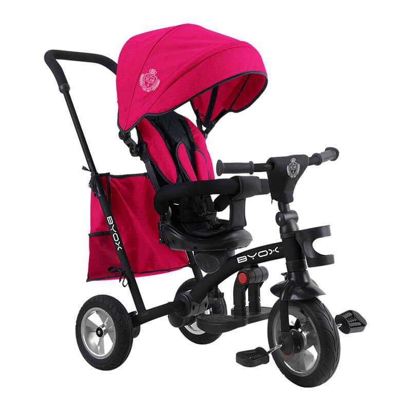 Τρίκυκλο ποδήλατο Scar Pink Byox