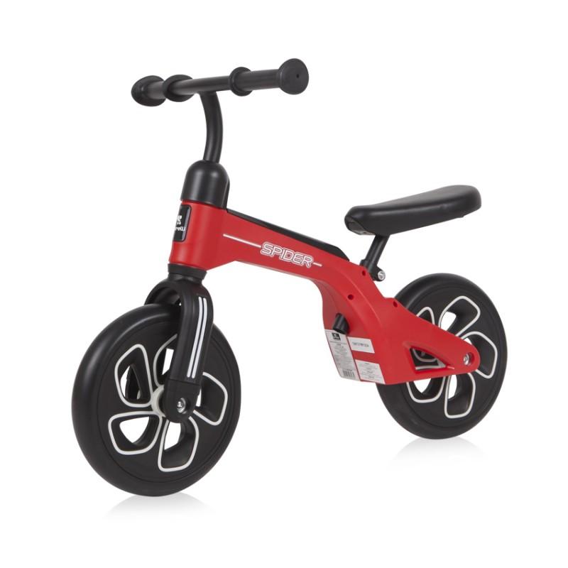 Παιδικό Ποδηλατάκι Ισορροπίας Lorelli Spider Red