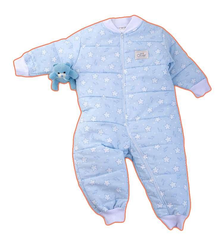 Υπνόφορμα Σχέδιο 39 Μπλέ Baby Oliver