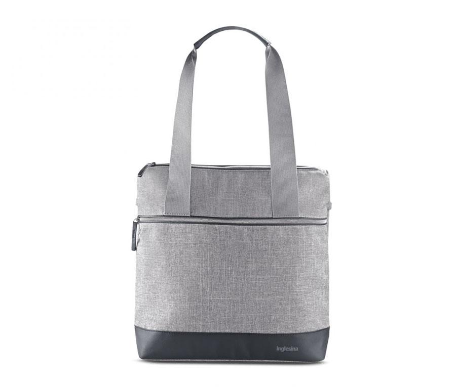 Τσάντα Πλάτης Back Bag Aptica Silk Grey Inglesina
