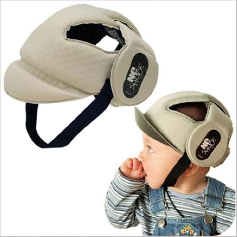 Καπέλο προστασίας No shock OK Baby - Beige