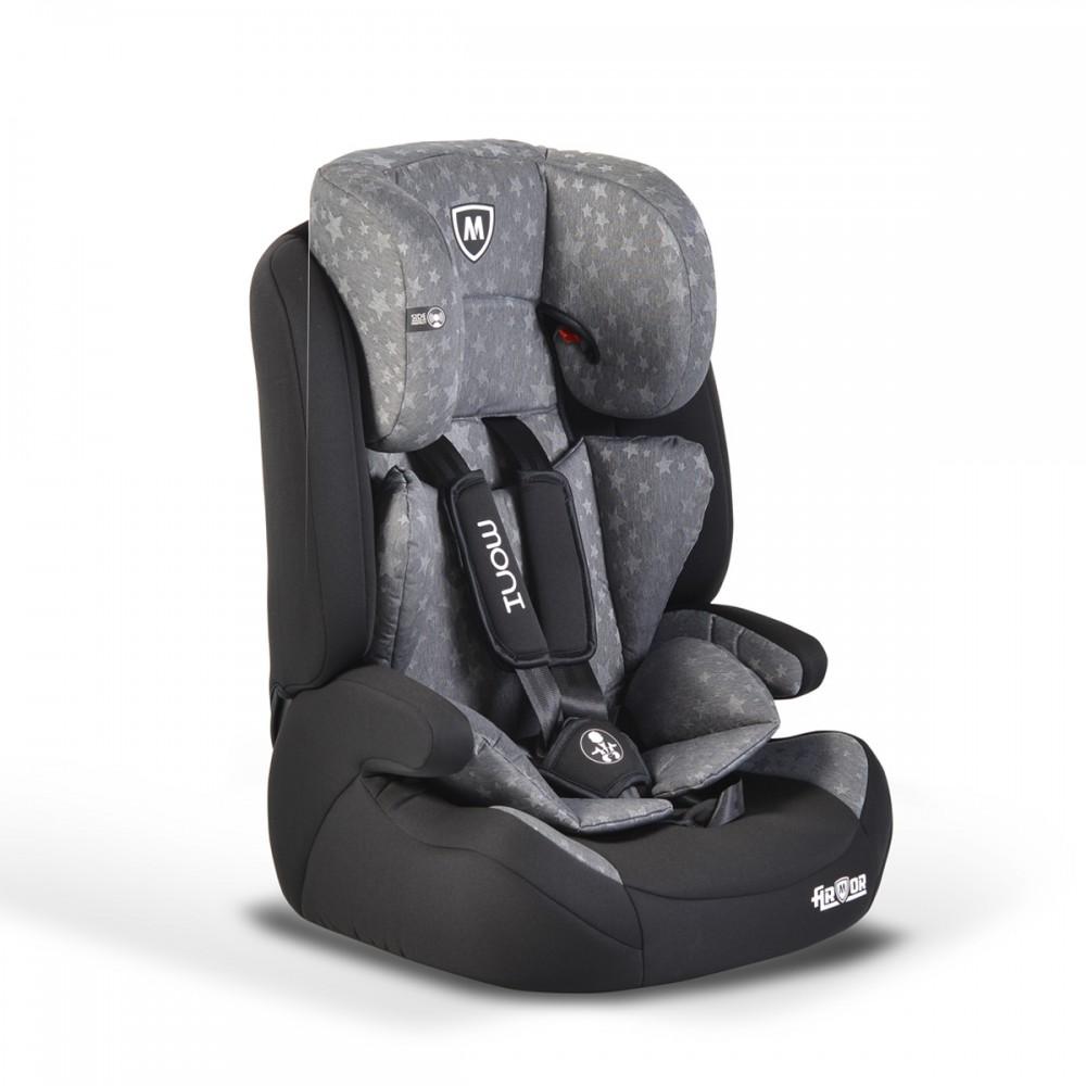 Παιδικό κάθισμα αυτοκινήτου Armor 9-36kg Grey Stars Cangaroo