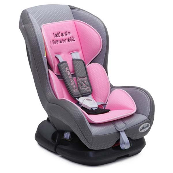 Κάθισμα Αυτοκινήτου Babysafe 0-18kg Pink Cangaroo