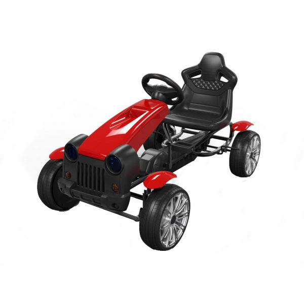 CANGAROO ΑΥΤΟΚΙΝΗΤΑΚΙ ΜΕ ΠΕΤΑΛΙΑ GO KARTΠοδοκίνητο Go-Cart – Byox Matador Red