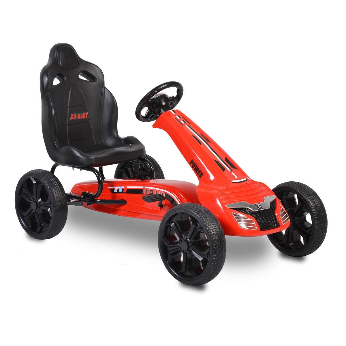 Παιδικό αυτοκινητάκι με πετάλια Go Cart Olympus red TL6988A Cangaroo
