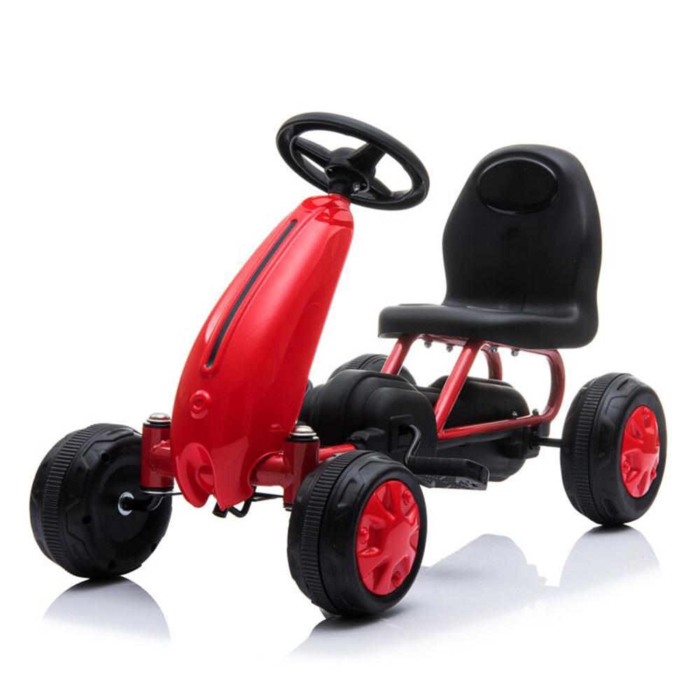 Παιδικό αυτοκινητάκι με πετάλια Go Cart Blaze Red Moni