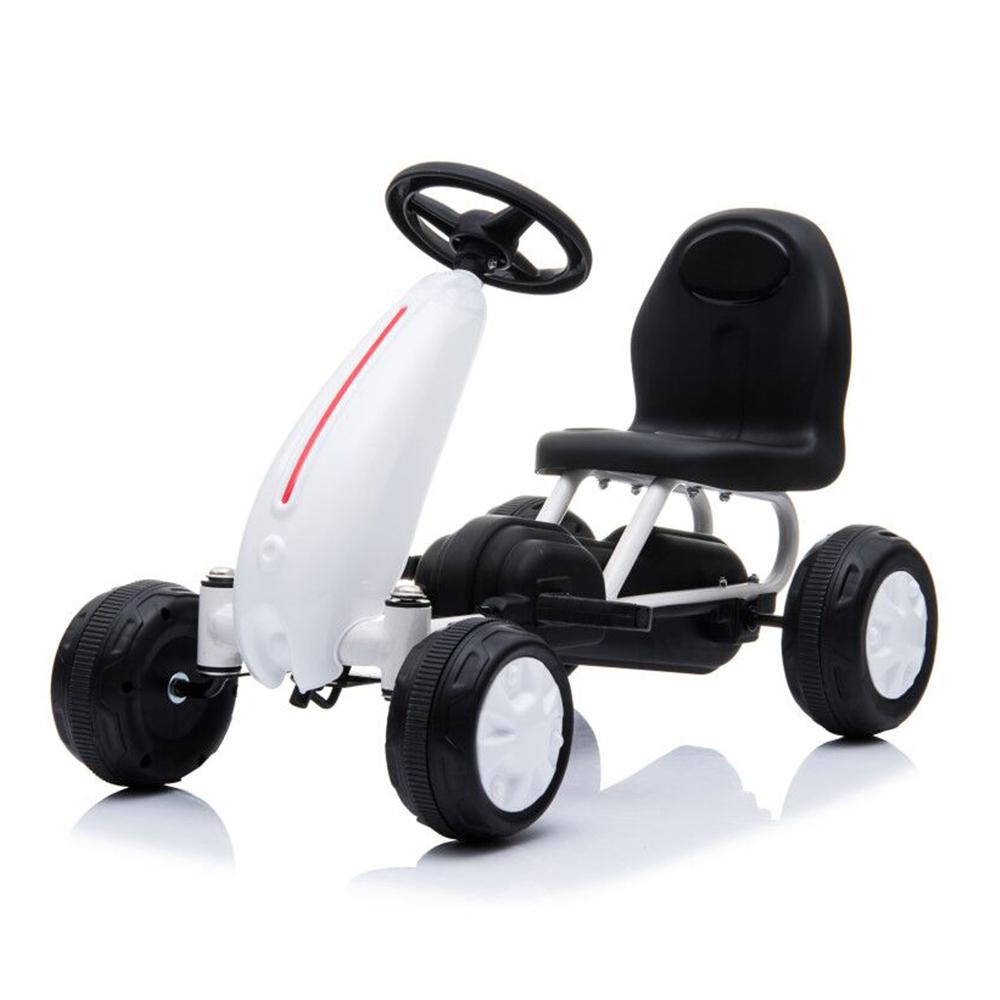 Παιδικό αυτοκινητάκι με πετάλια Go Cart Blaze White Moni