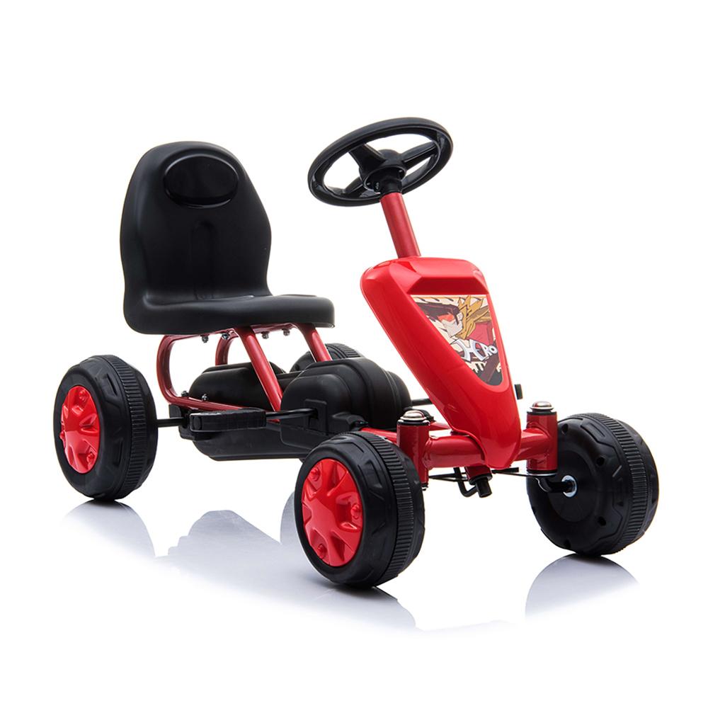Παιδικό αυτοκινητάκι με πετάλια Go Cart Colorado Red Moni
