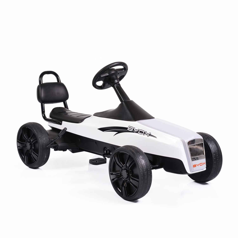 Παιδικό Αυτοκινητάκι με πετάλια Happy Baby K01 White Cangaroo