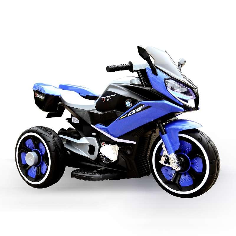 Ηλεκτροκίνητη Μηχανή 6V Cairo Blue Moni