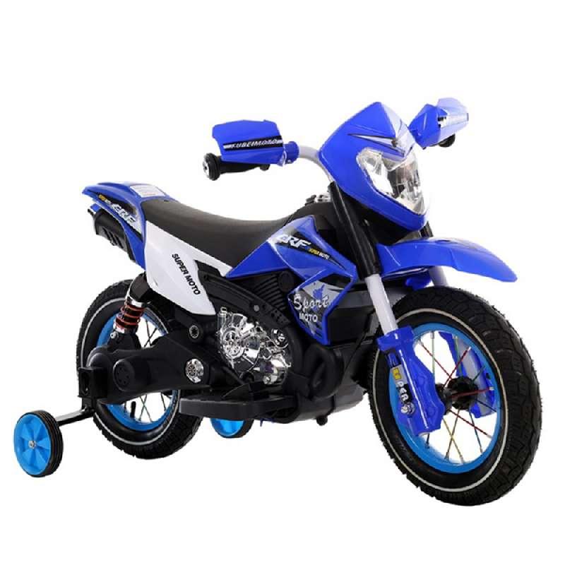 Ηλεκτροκίνητη Μηχανή 6V Super Moto FB-6186 Blue Moni
