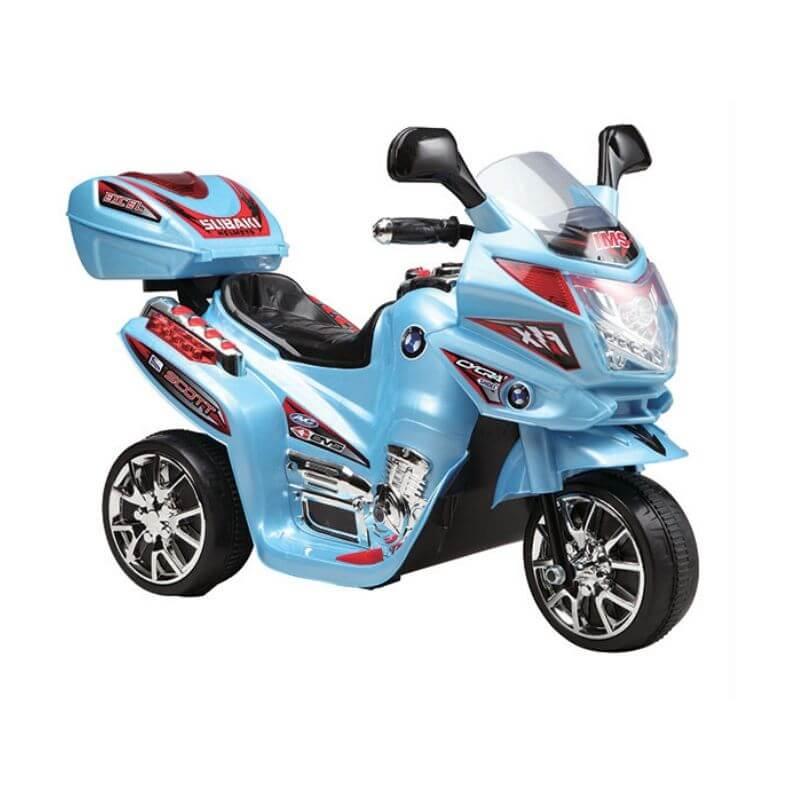 Ηλεκτροκίνητη Μηχανή C051 Blue 6V Moni