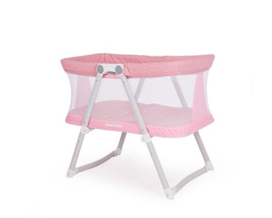 Βρεφικό Λίκνο Mom & Me Pink Melange Kikka Boo