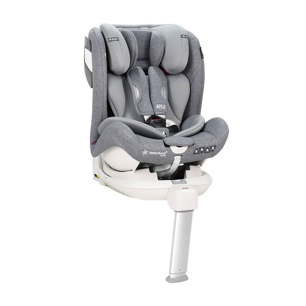 Κάθισμα Αυτοκινήτου Apex 360° Isofix Grey 925-186 Bebe Stars