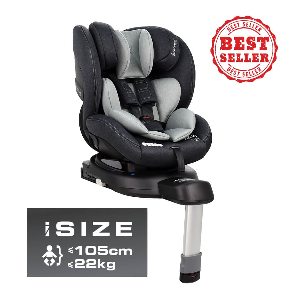 Κάθισμα Αυτοκινήτου Megan i-Size Grey 926-186 Bebe Stars