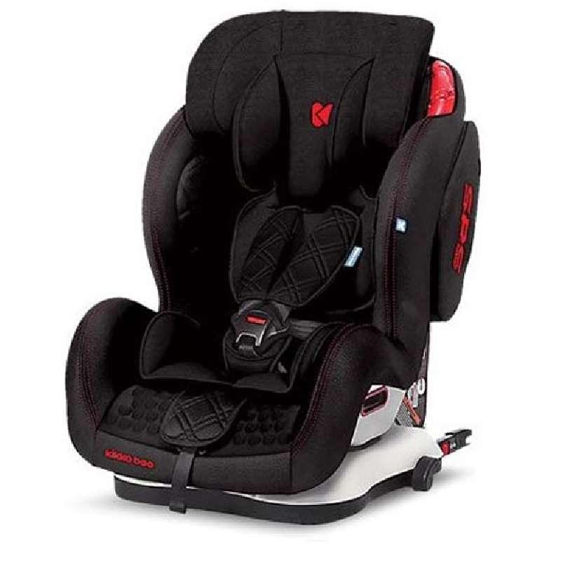 Kikkaboo Major 9-36 kg ISOFIX Παιδικό Κάθισμα Αυτοκινήτου - Black