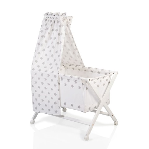 Cangaroo Ξύλινο Λίκνο Μωρού CASSY BEIGE 90/57 cm