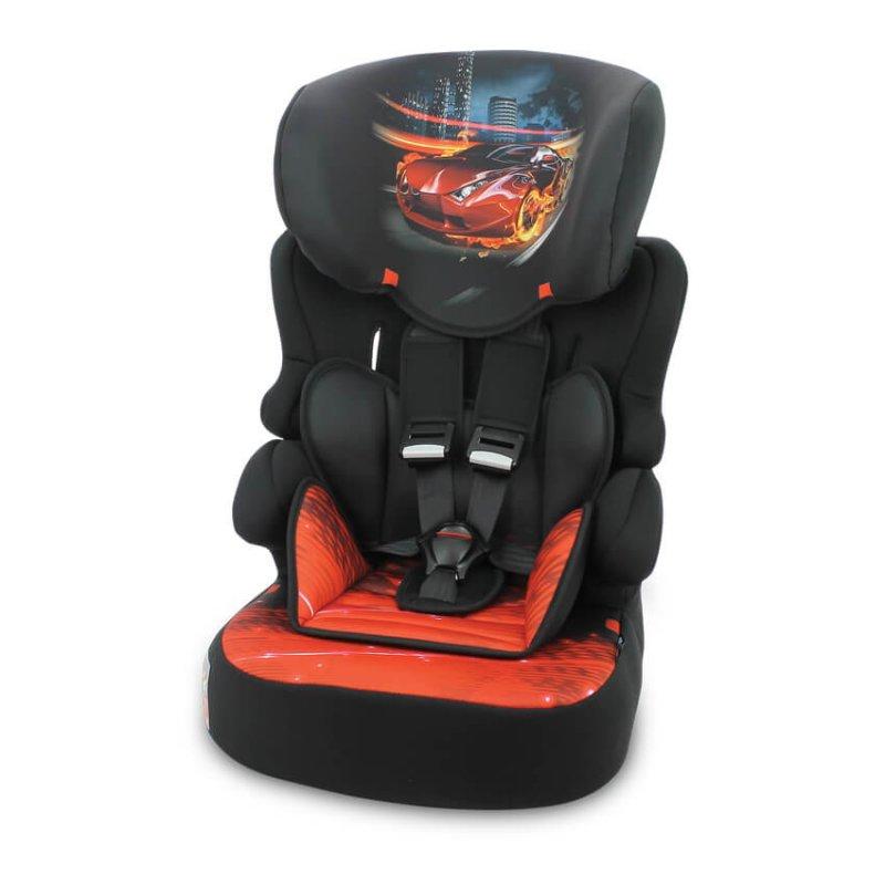Lorelli Παιδικό κάθισμα αυτοκινήτου X-Drive Plus 9-36kg Black Fiery Race