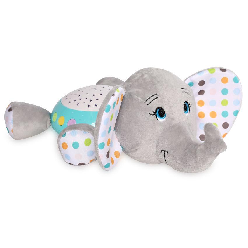 Μουσικός προβολέας Φωτάκι Νύχτας Light Elephant Lorelli