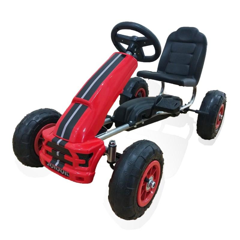 Παιδικό αυτοκινητάκι με πετάλι Go Cart Nevada B006 Red Cangaroo