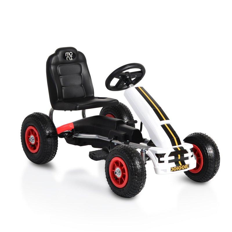 Παιδικό αυτοκινητάκι με πετάλι Go Cart Nevada B006 White Cangaroo