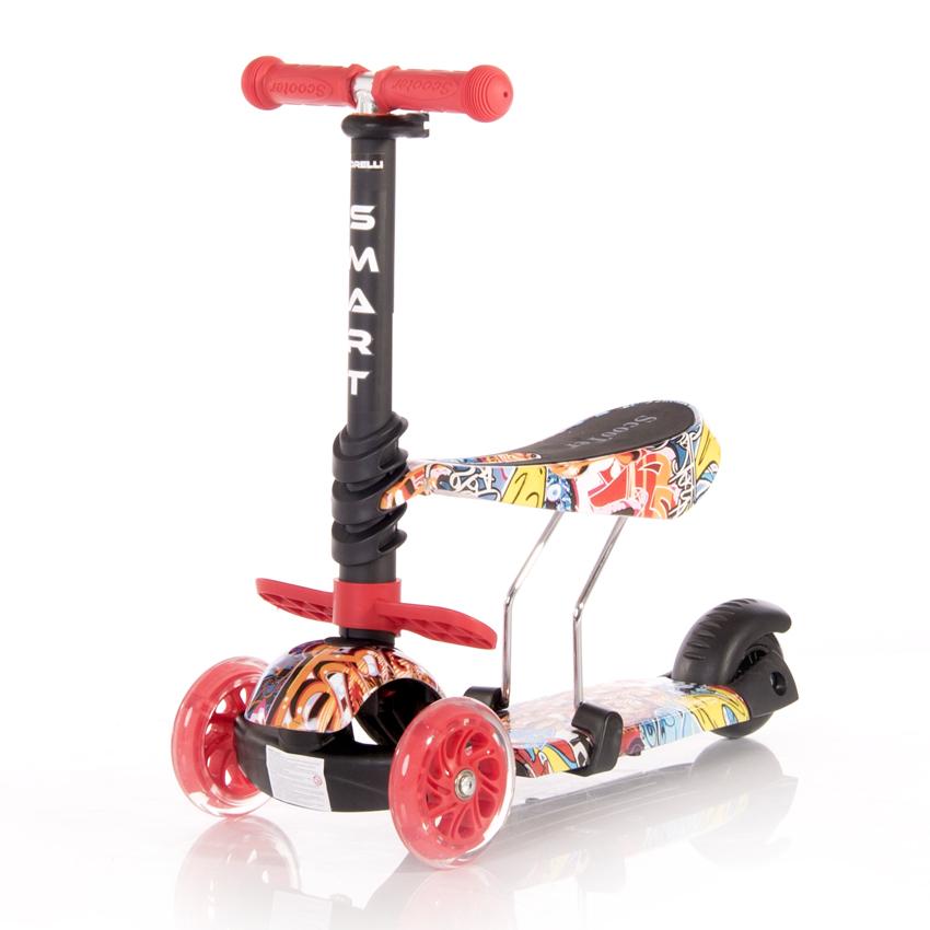 Πατίνι Smart Scooter με κάθισμα Lorelli