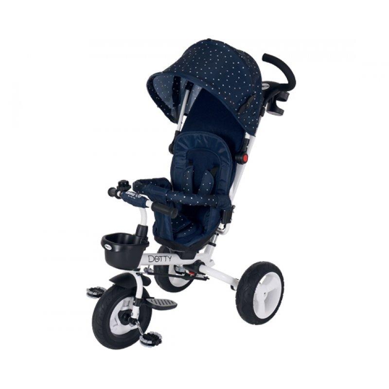 Ποδηλατάκι Τρίκυκλο Dotty 3 in 1 360o Blue Kikka Boo
