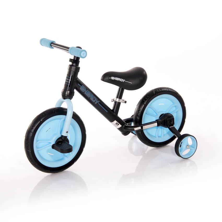 Παιδικό Ποδήλατο Ισορροπίας Energy 2 in 1 Black Blue Lorelli