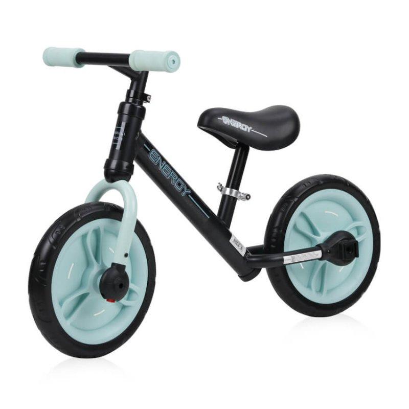 Παιδικό Ποδήλατο Ισορροπίας Energy 2 in 1 Black Green Lorelli
