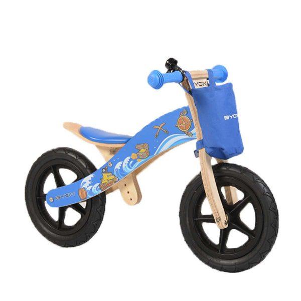 Ξύλινο ποδήλατο Ισορροπίας Woody Blue Cangaroo