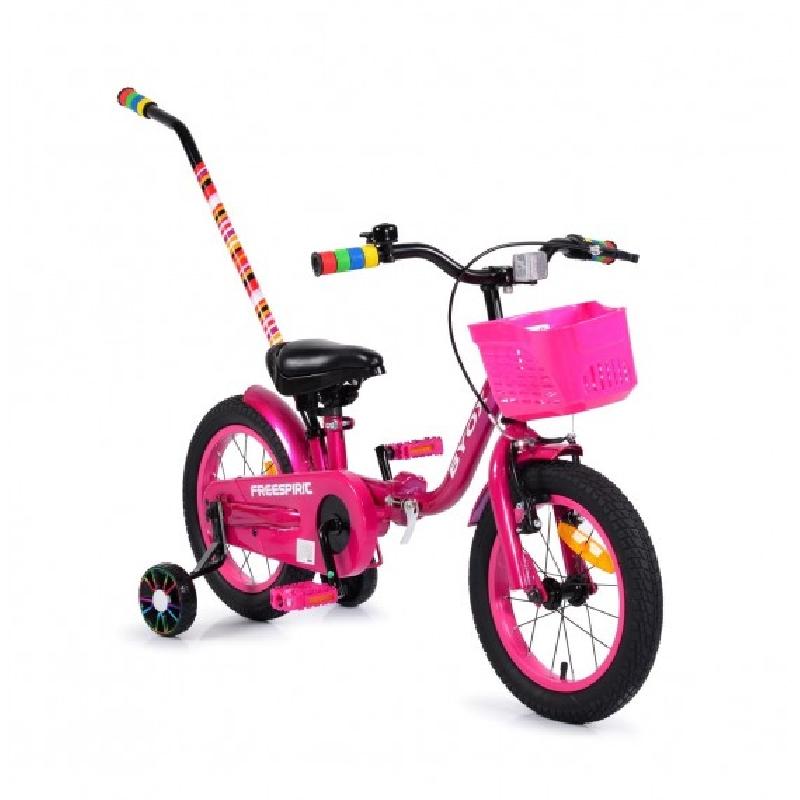 """Ποδήλατο Παιδικό Freespirit 14"""" Pink Byox"""