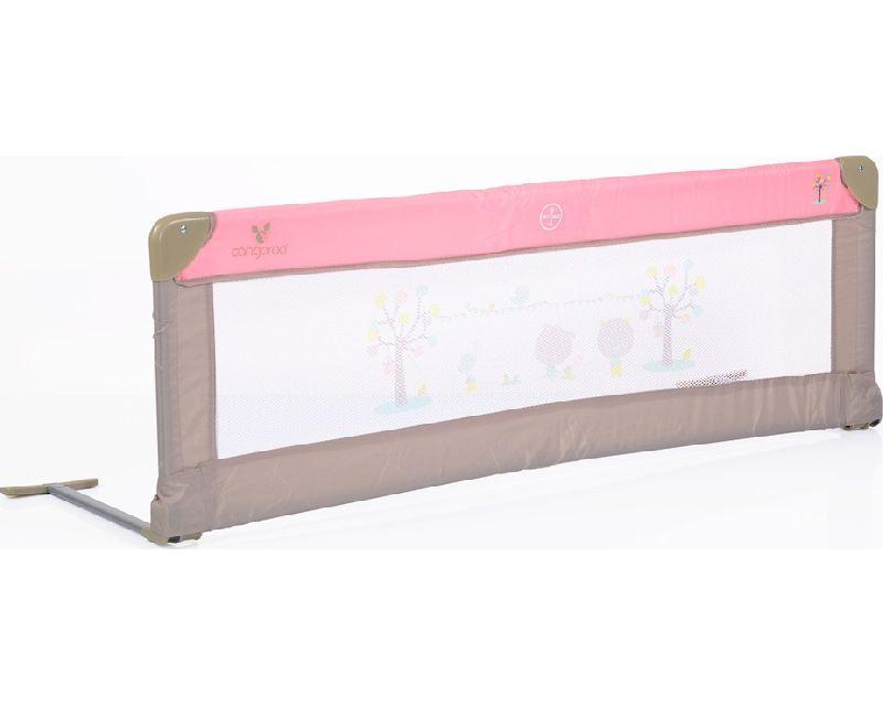 Προστατευτική Μπάρα Κρεβατιού Bed Rail Pink Cangaroo