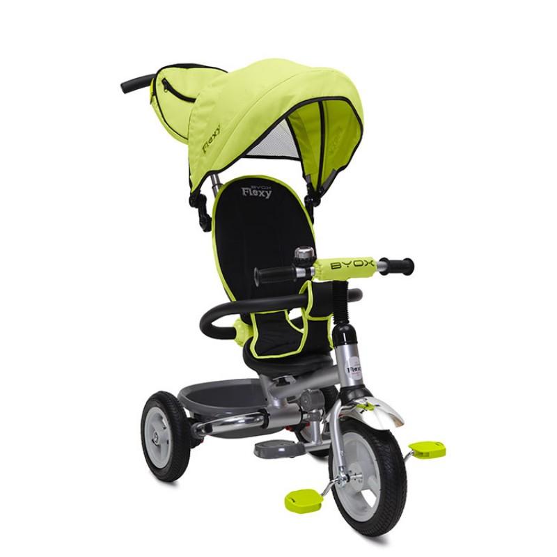 Τρίκυκλο Ποδηλατάκι Flexy Air Green Byox