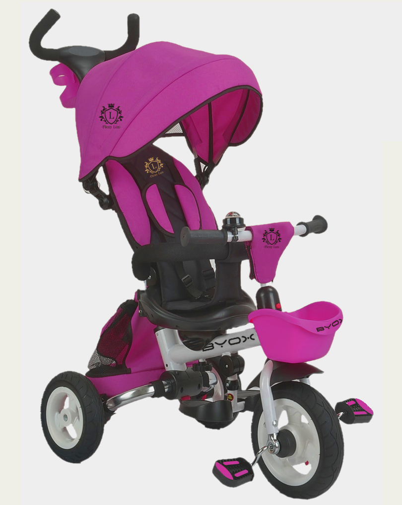 Τρίκυκλο Ποδηλατάκι Flexy Lux Purple Byox
