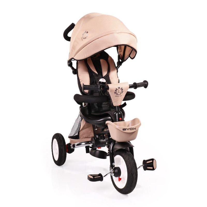 Τρίκυκλο Ποδηλατάκι Flexy Lux Βeige Byox
