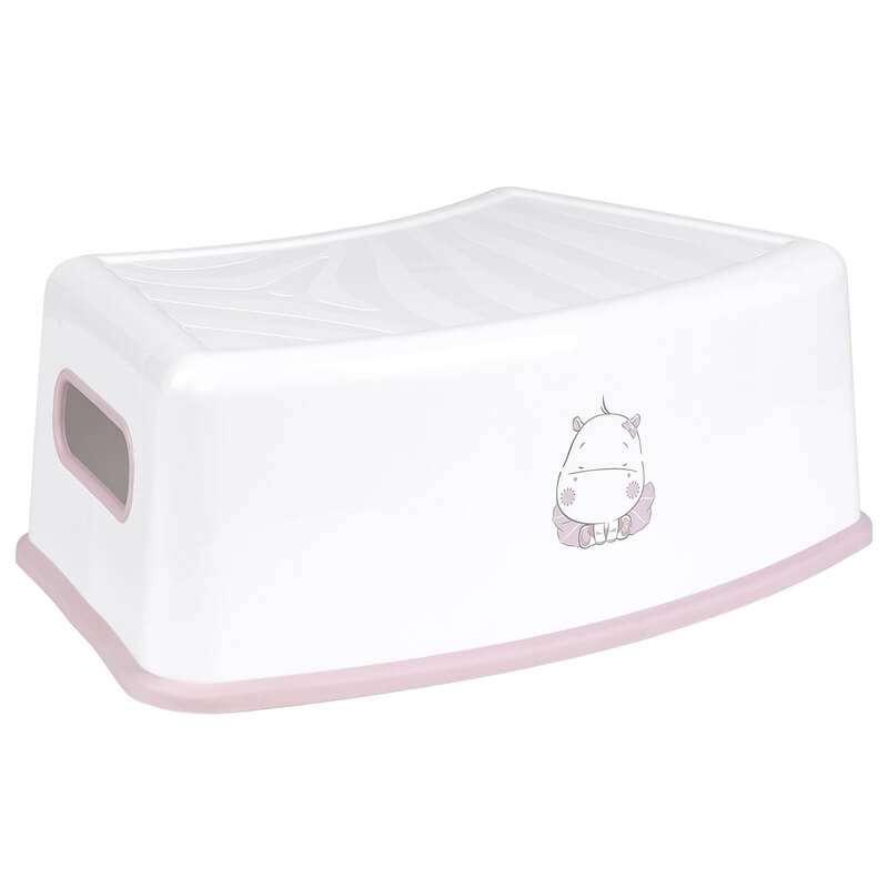 Βοηθητικό Σκαλοπάτι Μπάνιου Hippo Pink Kikka boo